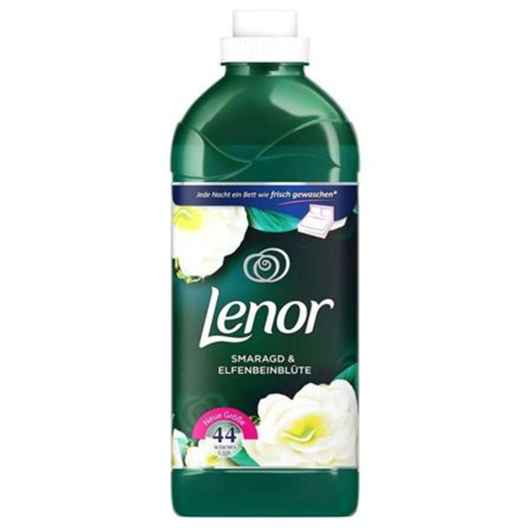 Lenor Weichspüler Smaragd & Elfenbeinblüte 1,32L