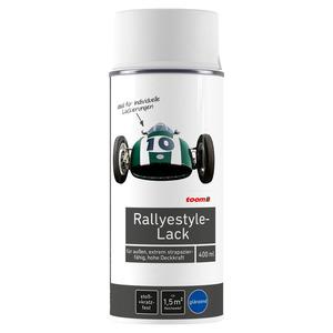 toom Rallyestyle Lack glänzend weiß 400 ml