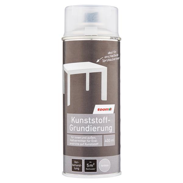 toom Kunststoff-Grundierung seidenmatt farblos 400 ml