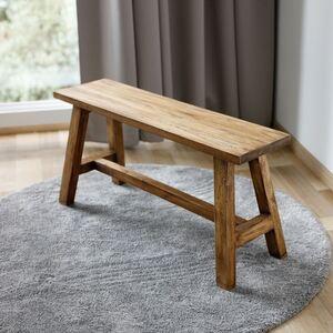 Holz-Sitzbank Ranch 90x24,5cm