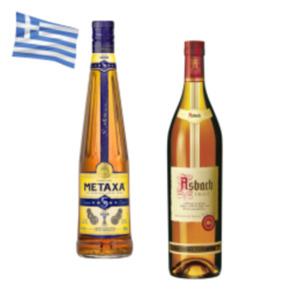 Asbach Uralt Weinbrand oder Metaxa 5 Sterne