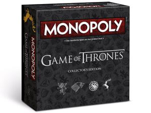 Winning Moves Monopoly - Game of Thrones Collector's Edition