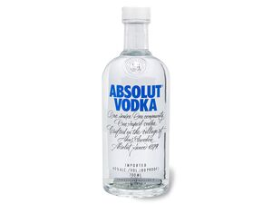 ABSOLUT Vodka 40% Vol