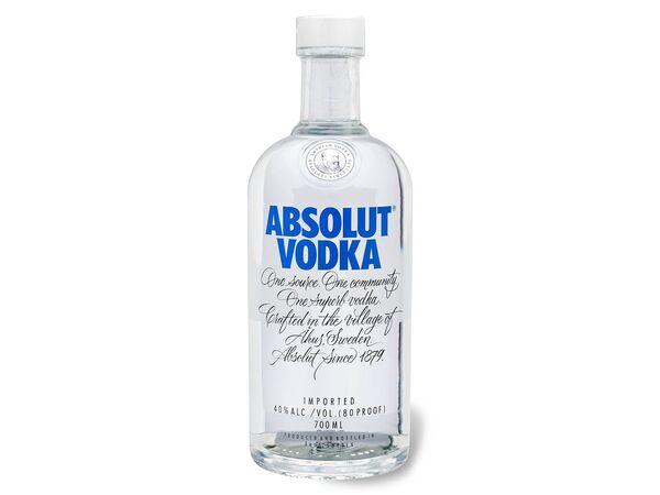 ABSOLUT Vodka 40% Vol