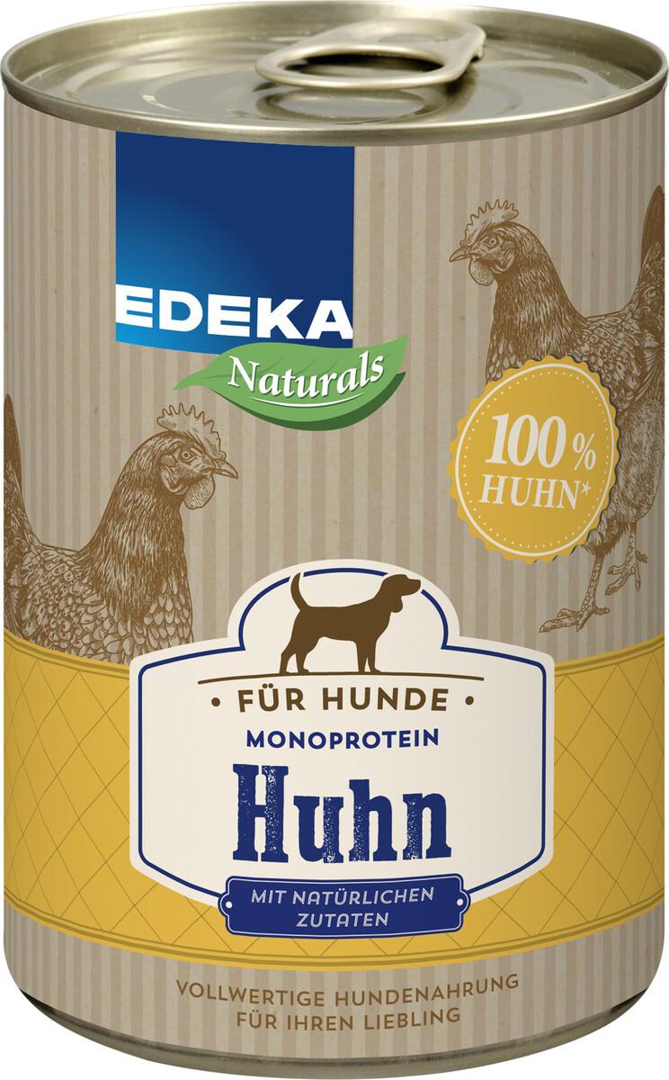 Bild 2 von EDEKA Naturals Monoprotein Huhn Hundefutter nass 400 g