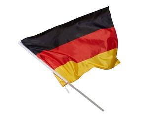 Flagge Deutschland am Stick