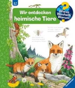 Ravensburger WWW Wir entdecken heimische Tiere