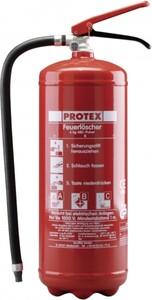 Protex Feuerlöscher PD 6 GA ,  Pulver 6 kg, Löschleistung: 27 A, 144 B, C