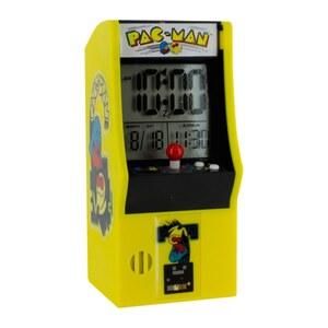 Pac Man - Arcade Wecker mit LED Anzeige