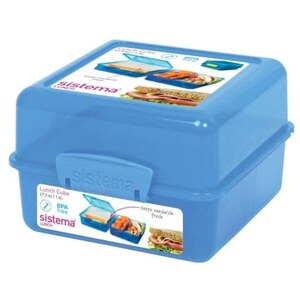 Sistema - Lunch Cube 1,4l, sortiert