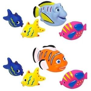 Edco - Badefiguren Fische 4-tlg großer Fisch, sortiert