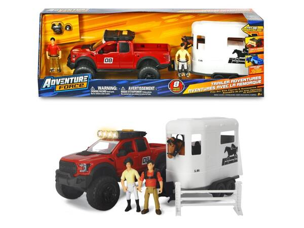 Dickie Playlife Horse Trailer Set
