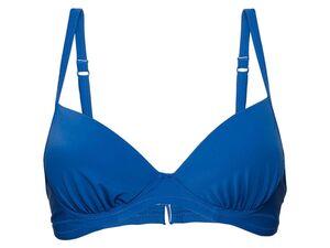ESMARA® Bikinioberteil, mit verstellbaren Trägern und gemouldete Cups, enthält Elasthan