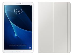 "SAMSUNG Tablet Galaxy Tab A 10.1"" T580 WiFi 32GB + Tablet Hülle weiß"