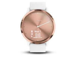 GARMIN Smartwatch Vivomove HR Sport Größe S/M Rosegold/weiß