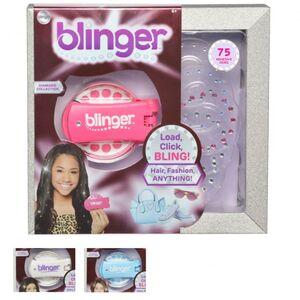 Blinger - Applikator und 75 selbstklebende Schmucksteine