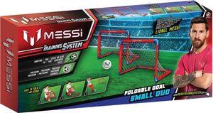 Messi faltbares Fußballtor X2 - mit Ball und Luftpumpe
