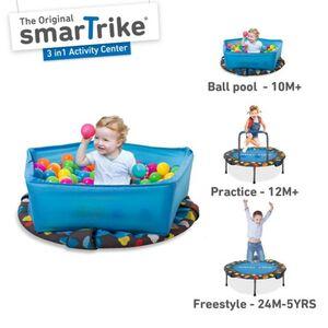 Smart Trike Trampolin - ca. 90 cm - 3-in-1 Activity Center