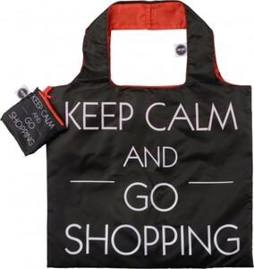 ANY BAGS Einkaufstasche/Tragetasche Keep Calm and go shopping ,  faltbar