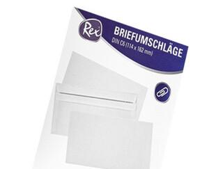 Rex®  Briefumschläge, 100 Stück