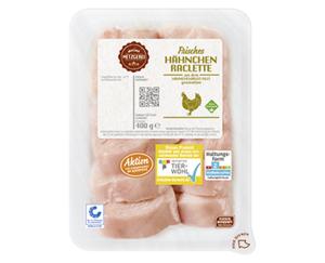 MEINE METZGEREI Raclette-Platte vom Hähnchen