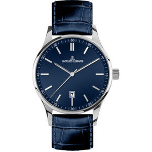 "Jacques Lemans Herrenuhr London ""JL 1-2026C"", blau"