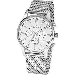 "Jacques Lemans Herren Chronograph London ""1-2025G"", silber"