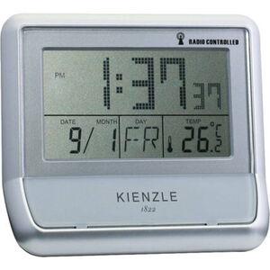 """Kienzle Funk-Wecker """"A-00464-720"""", silber, silber"""