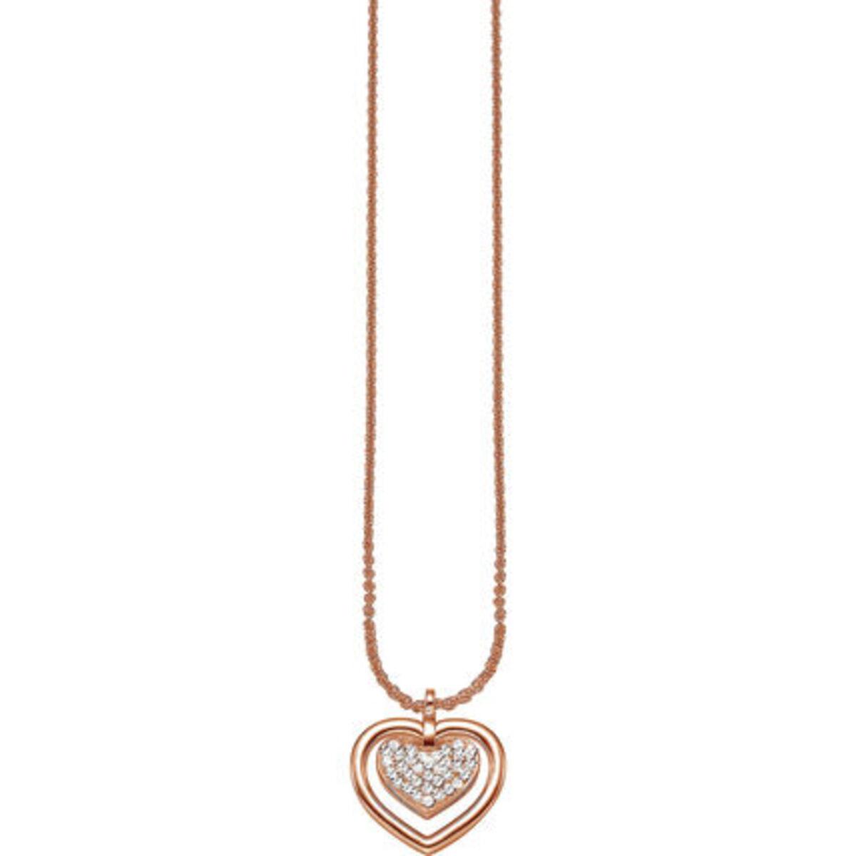 """Bild 1 von Esprit Kette mit Anhänger """"Sentiment Within ESNL91573B"""", 925er Silber, roségold"""