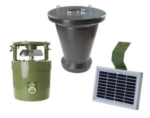 Futterautomat Light 6V inkl. Vorratsbehälter und Solar Ladegerät