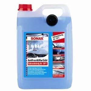 Sonax Scheibenreiniger Antifrost + Klarsicht bis -20° C ,  5 l, gebrauchsfertig