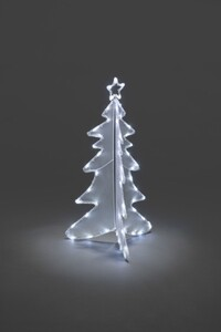 Konstsmide Acryl Tannenbaum ,  56 LED, weiß