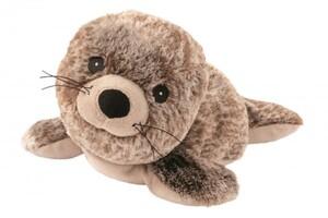 Warmies Wärme-Stofftier Robbe ,  Das weltweit erste Wärme-Stofftier vollständig für die Mikrowelle