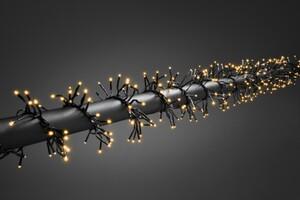 Konstsmide LED Cluster Lichterkette ,  960 LED, bernstein