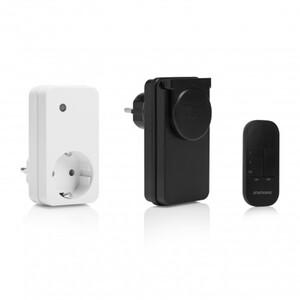 Smartwares Funksteckdosen 2er Set ,  SH4-99563, für Innen und Außen