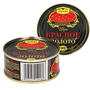 "Lachskaviar ""Krasnoe zoloto"""