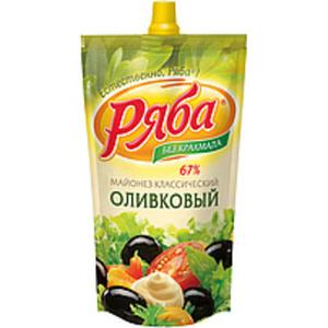 """Salatmayonnaise """"Rjaba-Klassicheskij Olivkovyj"""""""