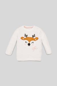 Baby-Pullover - Glanz-Effekt