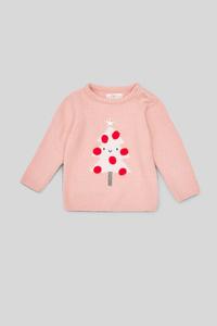 Baby-Weihnachtspullover - Glanz Effekt
