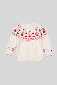 Baby-Weihnachtspullover