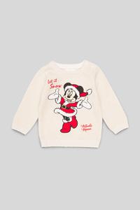 Disney - Baby-Weihnachtspullover - Glanz Effekt