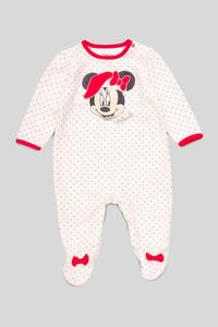Minnie Maus - Baby-Weihnachts-Schlafanzug - Bio-Baumwolle