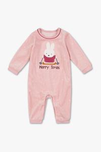 Miffy - Baby-Weihnachts-Schlafanzug - Bio-Baumwolle
