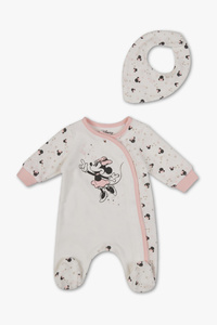 Minnie Maus - Baby-Schlafanzug - Bio-Baumwolle - 2 teilig