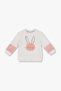 Baby-Sweatshirt - Bio-Baumwolle - Glanz Effekt
