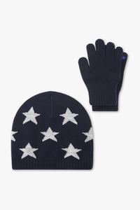 Set - Mütze und Handschuhe