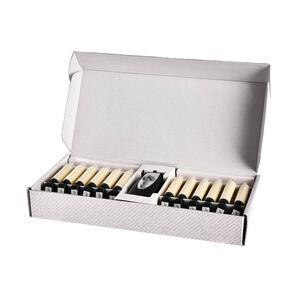 Baumkerzen zum Klemmen , 12LED, Batterien, creme