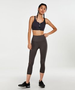 Hunkemöller HKMX High-waisted Capri Level 2 Grau