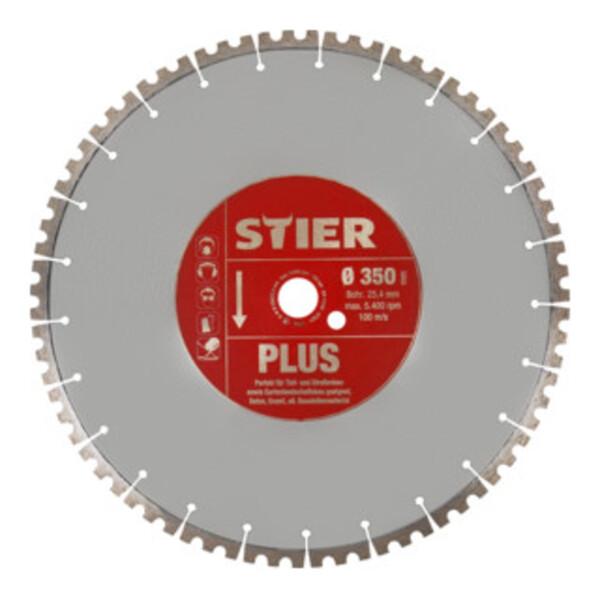 STIER Diamanttrennscheibe Plus Ø350mm Bohrung 25,4mm