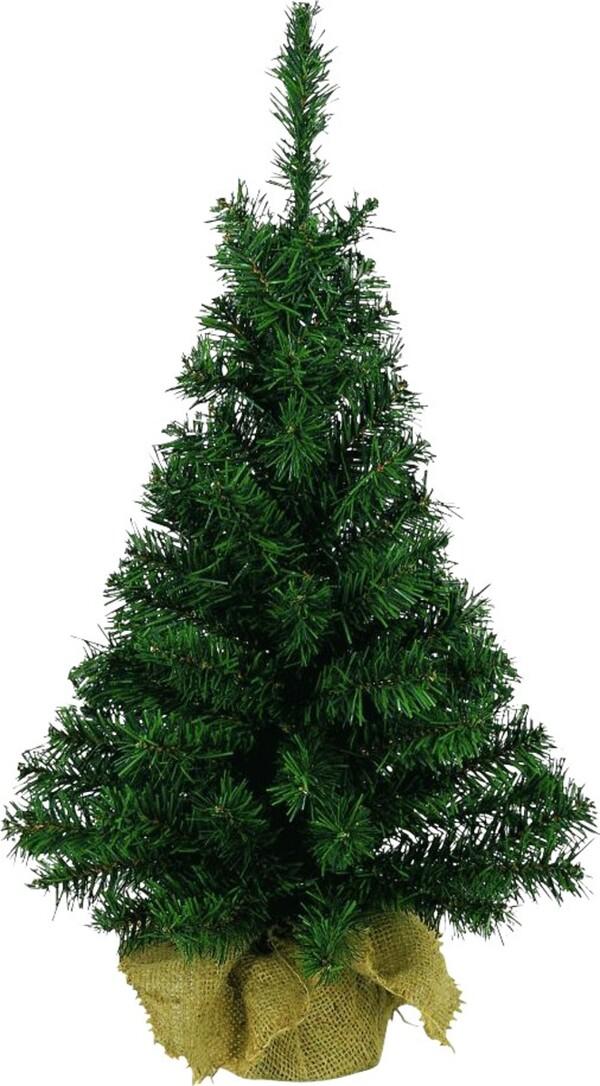 mini weihnachtsbaum im jute sack 45 cm von hitseller. Black Bedroom Furniture Sets. Home Design Ideas